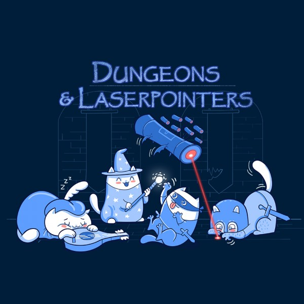 Dungeons and Laserpointers