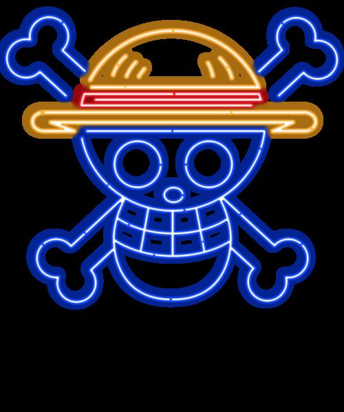 Neon Straw Hat