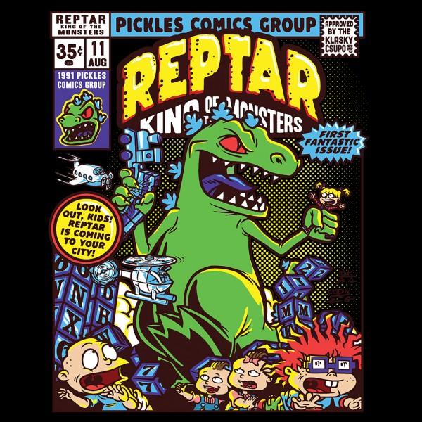 Reptar Comic