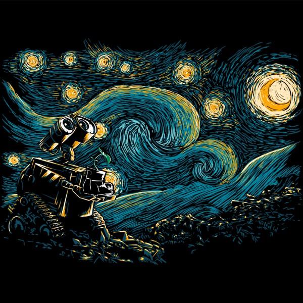 Starry Robot