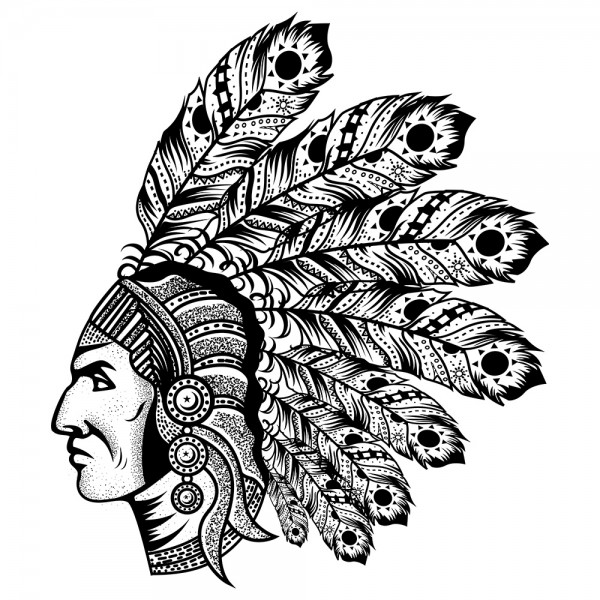 Indians Illustration