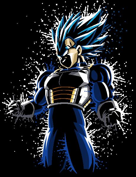 Super muscular blue