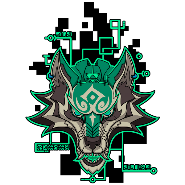 Cyber Wolf Hero