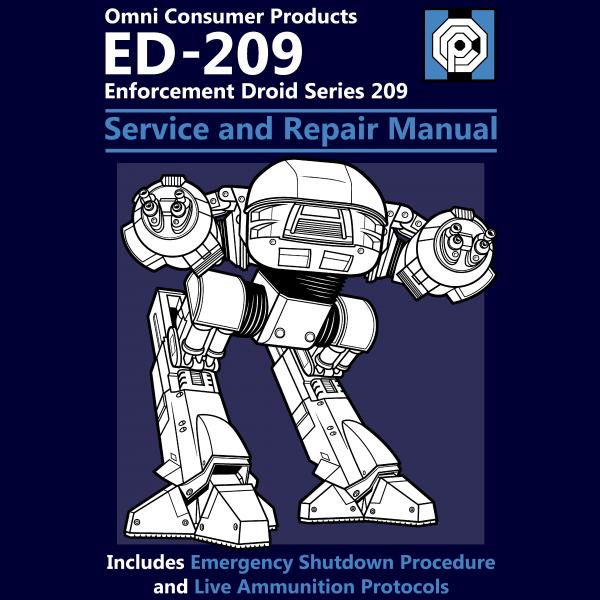 ED209 Service And Repair Manual