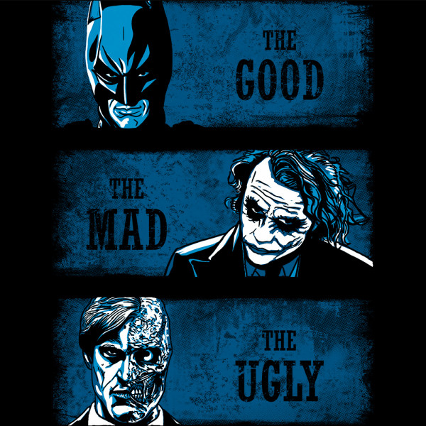 The Good the Mad and the Ugly - blue