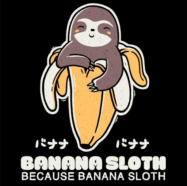 Banana Sloth