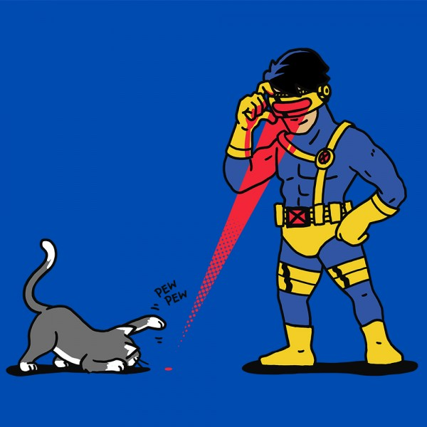 Cats and Lasers - Cyclops