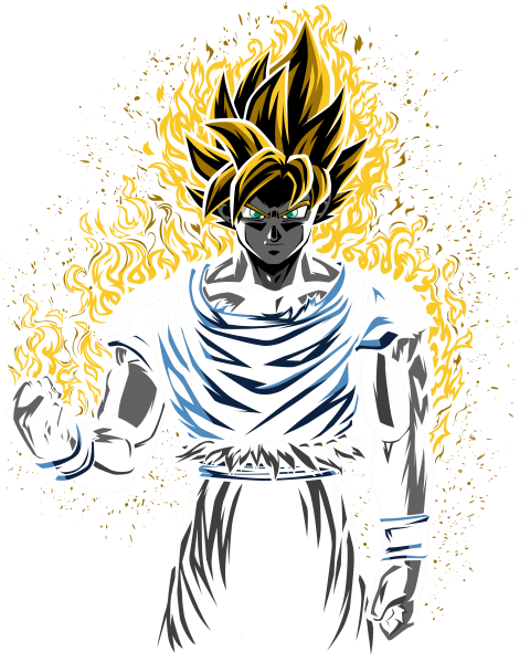 Super gold warrior