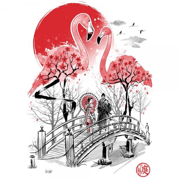 Flamingo Garden