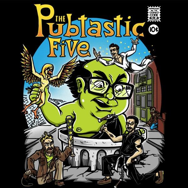 Pubtastic Five