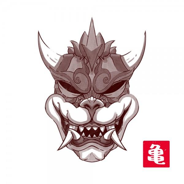 Sumi-E Turtle King