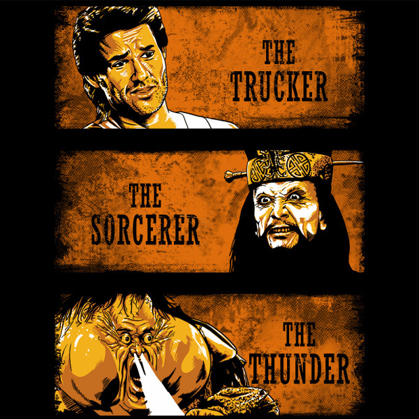 The Trucker the Sorcerer and the Thunder
