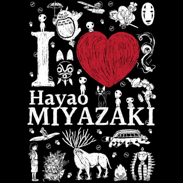 I love Miyazaki