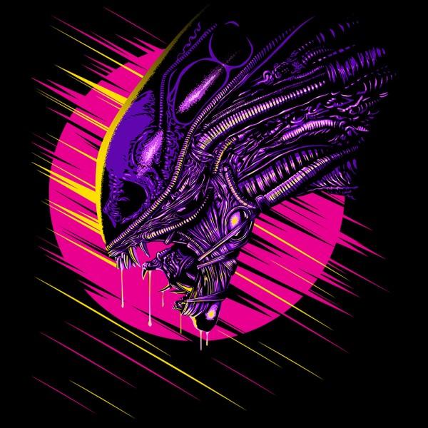 Retro Alien