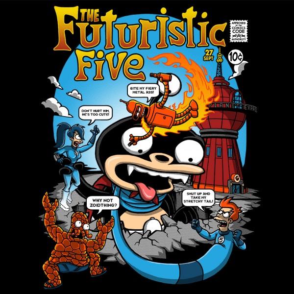 Futuristic Five