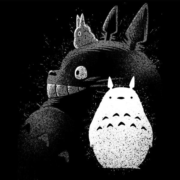 Inking Totoro