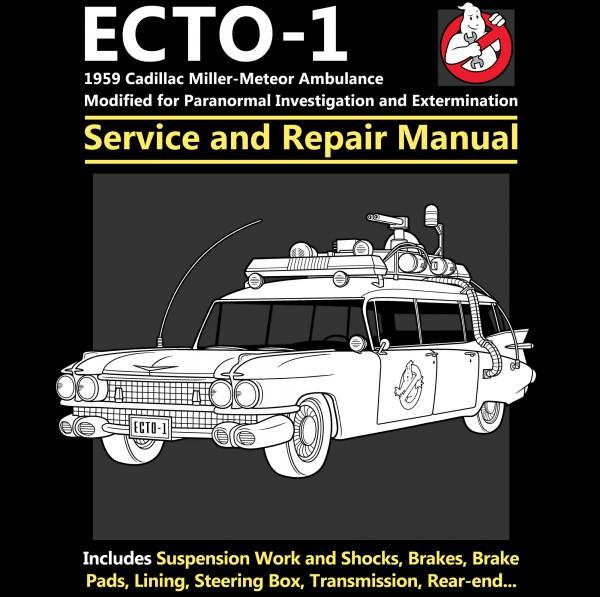 Ecto 1 Service and Repair