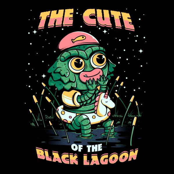 Cute of the black lagoon