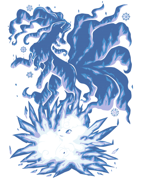 The Ice Tailed Fox Within