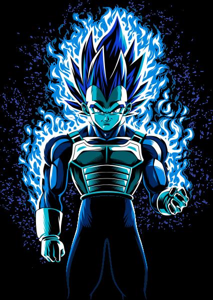 Prince fire blue warrior