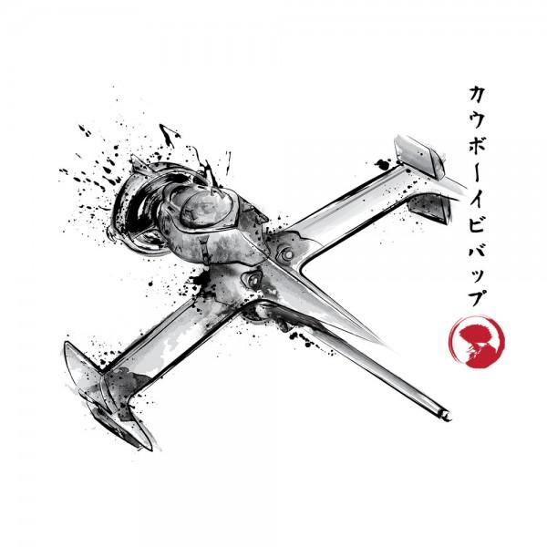 Mono Racer Sumi-e