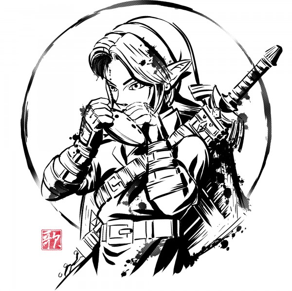 Ink Ocarina