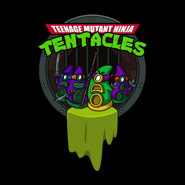 Teenage Mutant Ninja Tentacles