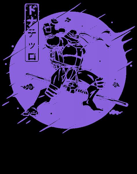 Purple Warrior Turtle