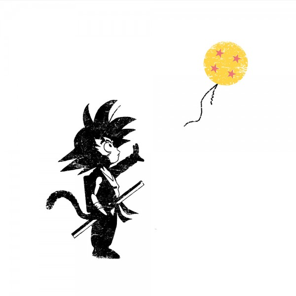 Saiyan with Balloon