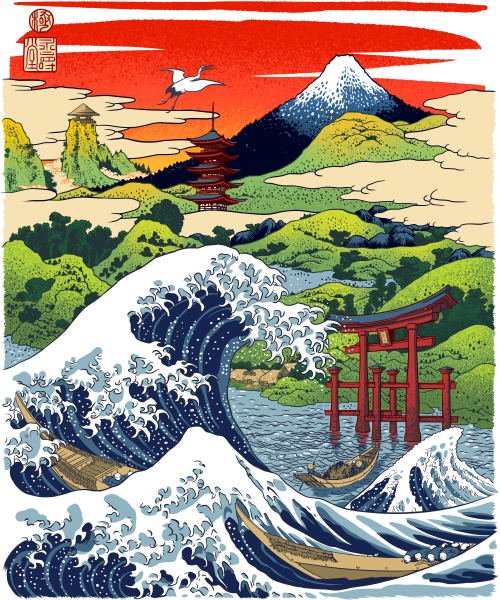 The great wave comes to Japan