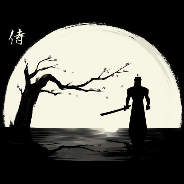 The shadow of the Samurai