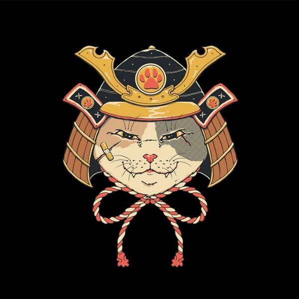Neko Samurai Head