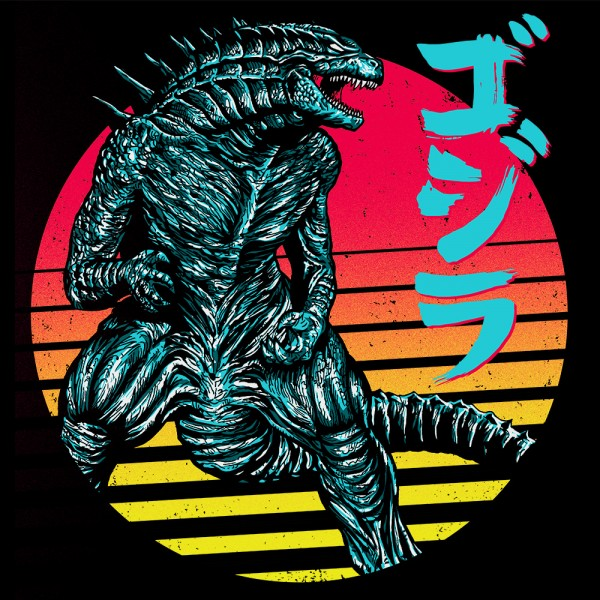 Retro Rising Kaiju