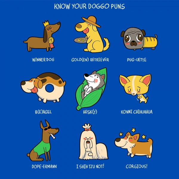 Know your Doggo Puns