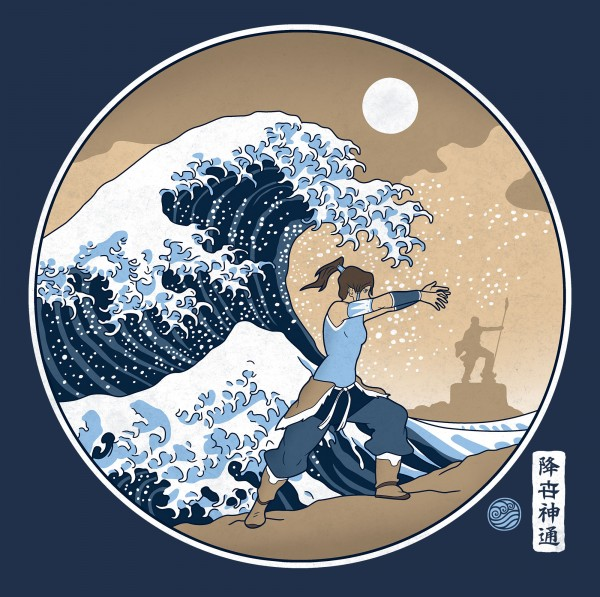 The great Wave of Republic City