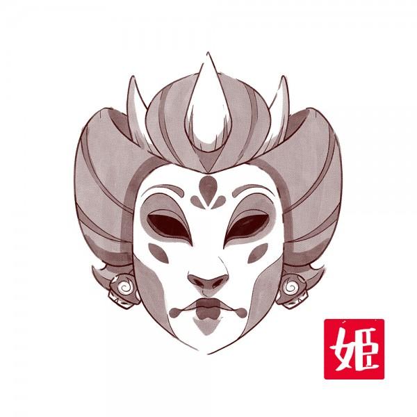 Sumi-E Princess
