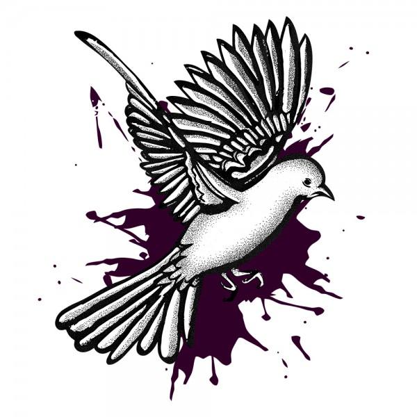 Inked Bird 1