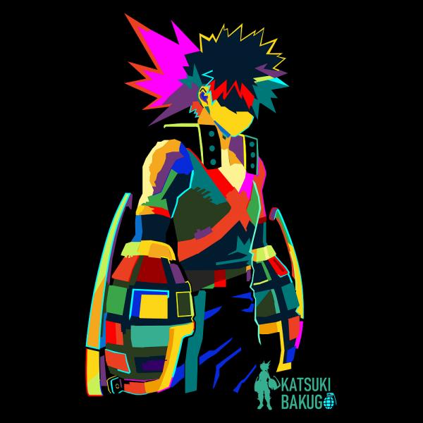 Bakugo The Angry Hero