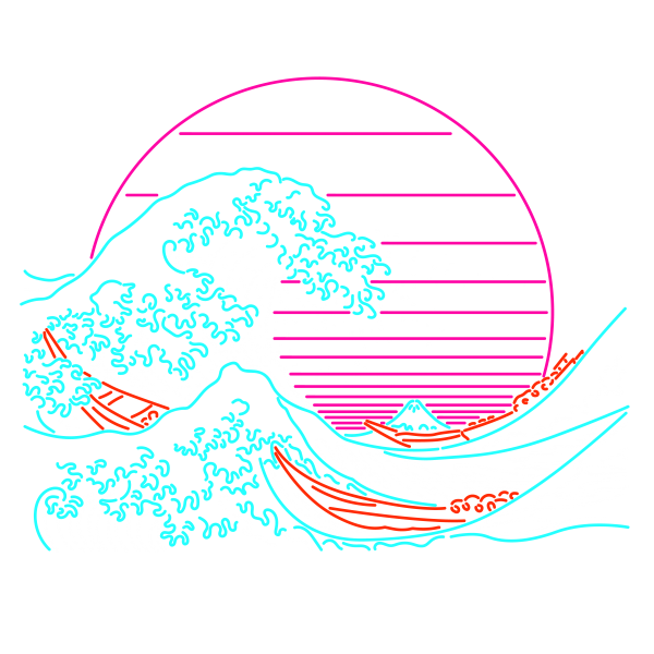 Great Neon Wave