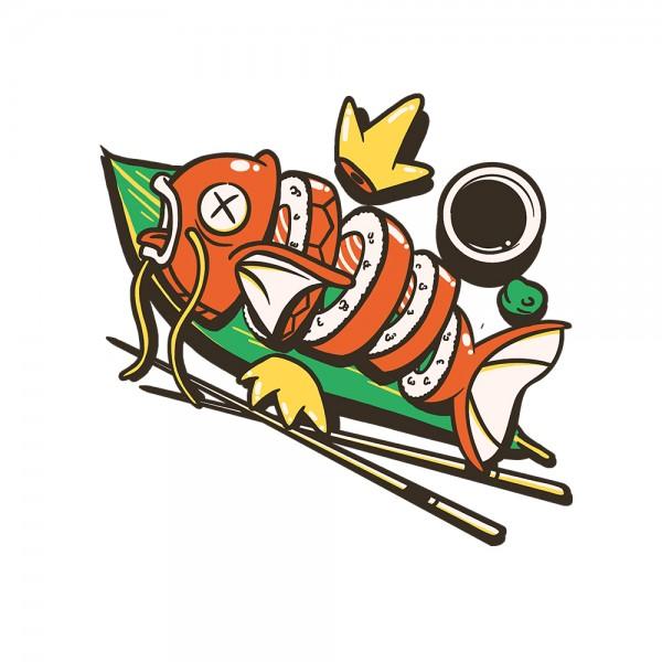 Sushi Karp Lvl up