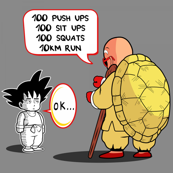Goku Training
